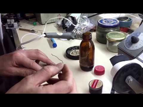 Ремонт циферблатных ножек Seiko, Orient, Citizen