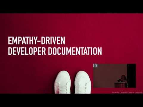 Building Empathy-Driven Developer Documentation