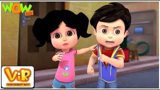 The Lady Jinn Part - 1 - Vir: The Robot Boy - Kid's animation cartoon series