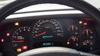 Instrument Cluster Replacement GMC Yukon