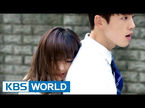 1click scene  kim sejeong gives kim junghyun a   39 back hug  39    school 2017 ep 9