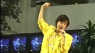 森口博子「水の星へ愛をこめて」イベント映像1986年