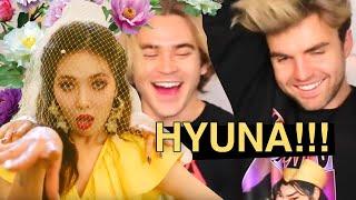 HyunA 'Flower Shower' M/V Reaction!!!