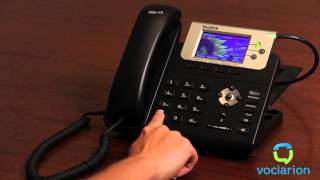 Voclarion: Unconditional Call Forward - Set UCF to Forward to Voicemail