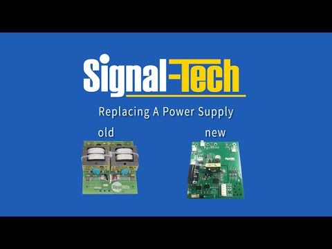 Replacing an old power supply