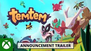 Xbox Temtem - Announce Trailer - Xbox Series X anuncio