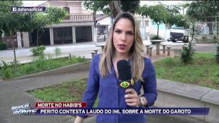Perito contesta laudo do IML sobre morte do garoto