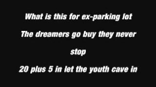 Tiny Voices Boxcar Racer Lyrics