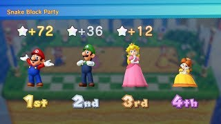 Mario Party 10 Mario Party #66 Mario vs Peach vs Luigi vs Daisy Chaos Castle Master Difficulty