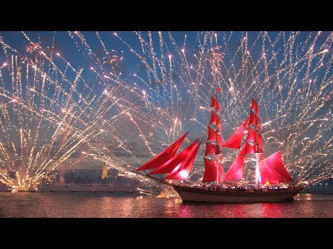 Fireworks and scarlet sails mark finale of St. Petersburg's White Nights festivities