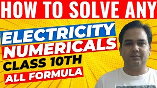 class 10 physics electricity numericals with solutions cbse - Thủ