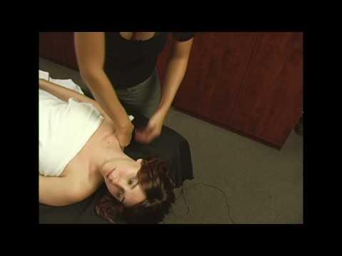 Full Body Massage Therapy Techniques Part 6, Neck & Shoulders Massage