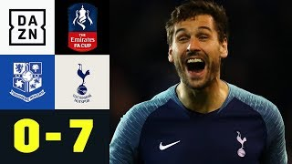 Fernando Llorente Mit Dreierpack Bei Torfestival: Tranmere - Tottenham 0:7 | FA Cup | Highlights