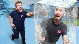 Freeze Tag Challenge! | Garry