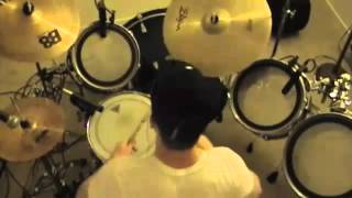 Circle The Drain - Katy Perry Drum and Guitar Canvas (Cover)