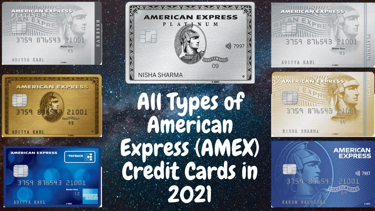 Introduction of All American Express Credit Cards in 2021|Amex Credit Cards All in One Video thumbnail