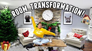 Makeover HUGE CHRISTMAS ROOM With Me!   Vlogmas Day 7