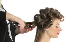 Watch This Quick Tip Video In How To Create Hollywood Curls For Your Next Event! Tools Available For
