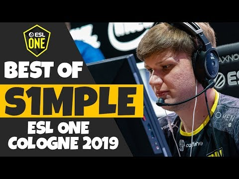 CS:GO - Best of s1mple from ESL One Cologne 2019
