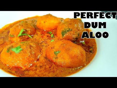 Dum Aloo Recipe in hindi easy by cooking with benazir