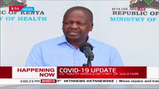 CS Kagwe: Number of COVID-19 cases rises to 126 after 4 more cases out of 372 samples test positive