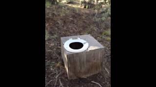 Glass Buttes, Oregon - campsite