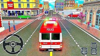 911 Emergency Ambulance Van Driving Simulator - Android Gameplay #4
