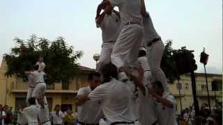 preview picture of video 'Catalan Acrobatic Human Towers - Falcons del Llorenc del Penedes - 4-3-2-1'