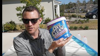How to REALLY clean your CARPET plus the Science of how OxiClean Removes Stains