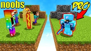 8 NOOBS VS 1 PROFESSIONAL! (Minecraft BED WARS) 🔴