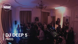 DJ Deep - Live @ Boiler Room Mix x W Hotel Paris 2012