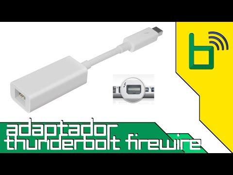 Adaptador de Thunderbolt para Firewire da Apple