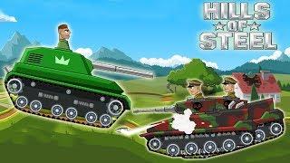 Для детей развивающие игры супер крутое прохождение игры на андроид Hills Of Steel Серия 1