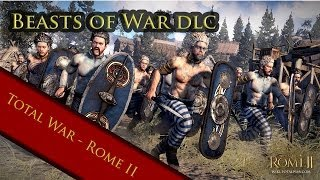 Rome 2 Total war:- beast of war dlc syrian armored elephant vs indian armored elephant