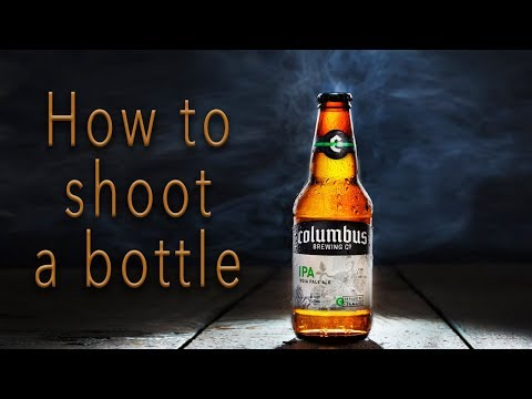 How to photograph a beer bottle | Product photo shoot tutorial