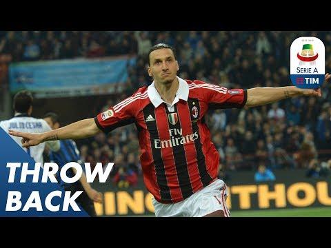 Zlatan Ibrahimović's Top 5 Goals In The League | Throwback | Serie A