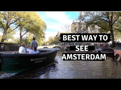 Best Way To See Amsterdam. Canals? Amsterdam Vlog 6