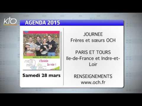 Agenda du 20 mars 2015