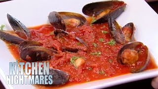 Gordon Ramsay Served The Smallest Portion Of Mussels He's Ever Seen | Kitchen Nightmares