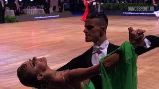 Alexey Glukhov - Anastasia Glazunova RUS, Tango | WDSF GrandSlam Standard