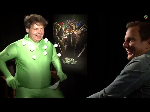 A glorious video of Rich Fulcher interviewing Will Arnett over a TMNT film.