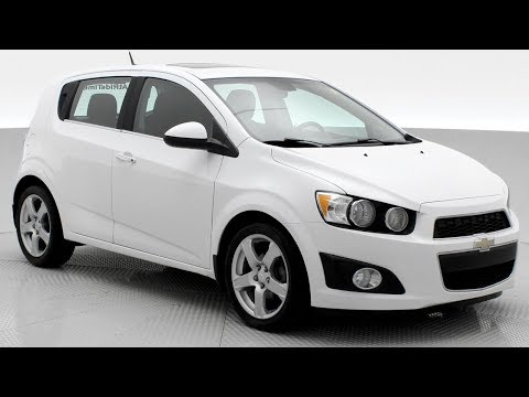 "2012 Chevrolet Sonic LT Hatchback | Automatic, Sunroof, 17"" Alloy Wheels 