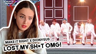 "BTS ""Make It Right"" & Dionysus"" M COUNTDOWN REACTION"