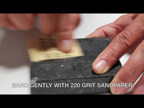 How to repair chip in Granite, Marble, Corian, Porcelain and more DIY KIT