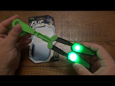 Flip Finz (Balisong / Butterfly Knife Style Kids Toy) Now Anyone Can Flip !!!