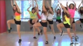 Coreografía de On the floor   TKM Argentina