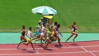 18年6月4日熊本県高校総体男子800m決勝
