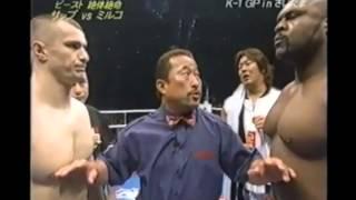 BOB SAPP VS. MIRKO CRO COP - Dream Elite Throwdown of the Week