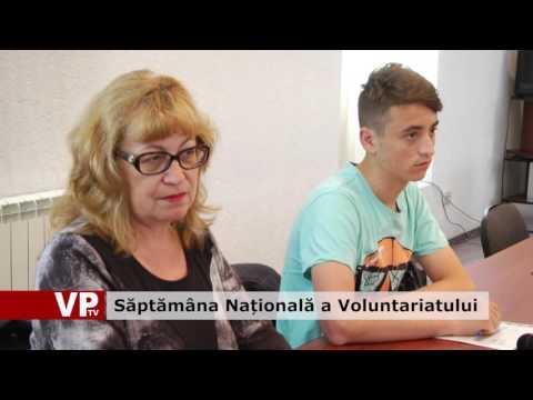 Săptămâna Națională a Voluntariatului