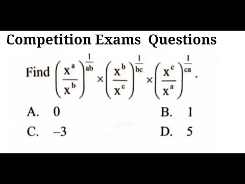Math tricks for Competitive exams, algebra tricks for ntse exam ...